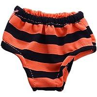 Dovewill 全11カラー選ぶ ファッション アンダーウェア 18インチアメリカンガールドール 人形用 アクセサリー 9色選ぶ - オレンジ1#