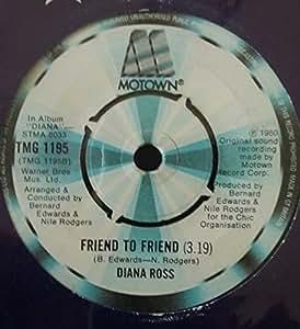 "Upside Down - Diana Ross 7"" 45"