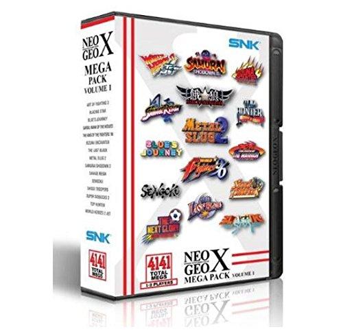 SNK NEOGEO X Megaパックボリューム1ビデオゲ...