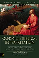 Canon And Biblical Interpretation (SCRIPTURE AND HERMENEUTICS)