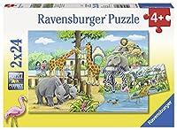 ラベンスバーガー(Ravensburger) 動物園へようこそ(24ピースx2) 07806 6