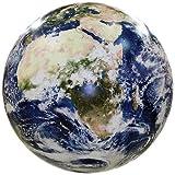 衛星写真を元に作られたリアルな地球風船 40㎝ (16インチ) 蓄光塗料付き 教材にも使えます EarthBall [並行輸入品]