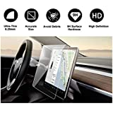 "Tesla Model 3 Model Y 15"" Center Control Touchscreen Car Navigation Touch Screen Protector, P50 P65 P80 P80D Tempered Glass 9H Anti-Scratch and Shock Resistant"