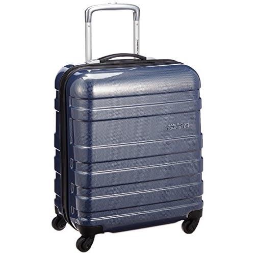 [アメリカンツーリスター] AmericanTourister スーツケース エムブイプラス ハード スピナー50 35L 2.5kg 保証付 31T*41025 41 (ネイビーチェッカー)