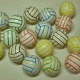 バレーボール グラシアス バレーボール型 カラフルスーパーボール 5個セット