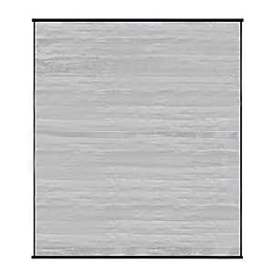 【すだれ サンシェード 遮光】 一間幅用簾 180×198cm シルバー (A889-S1)