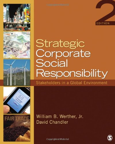 Download Strategic Corporate Social Responsibility: Stakeholders in a Global Environment 1412974534