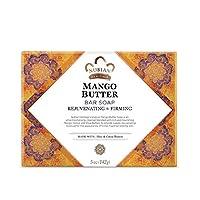 ヌビアンヘリテージ(Nubian Heritage) マンゴーバターソープ シア&ココアバター 141g [海外直送][並行輸入品]