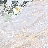 オーガンジー&フェアリーライトSET 結婚式 ウェディング ウェルカムスペース