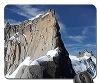 マウスパッド - Aiguille Du Midi Midi-Plan Ridge Rognan Du Plan