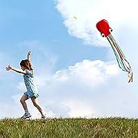 Airtana 4m凧 微風で揚がる凧 立体タコカイト 直径70cm