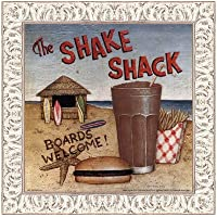 Shake Shack by David Carter Brown–10x 10インチ–アートプリントポスター LE_480531-F9711-10x10