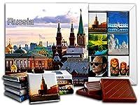 DA CHOCOLATE キャンディスーベニア ロシア チョコレートギフトセット 13x13cm 1箱 (教会)