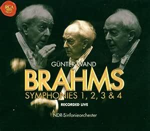 Brahms: Symphonies 1, 2, 3, & 4