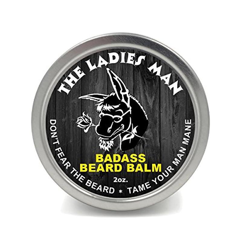 コカインカード手段Badass Beard Careビアードバーム2オンスレディースマン