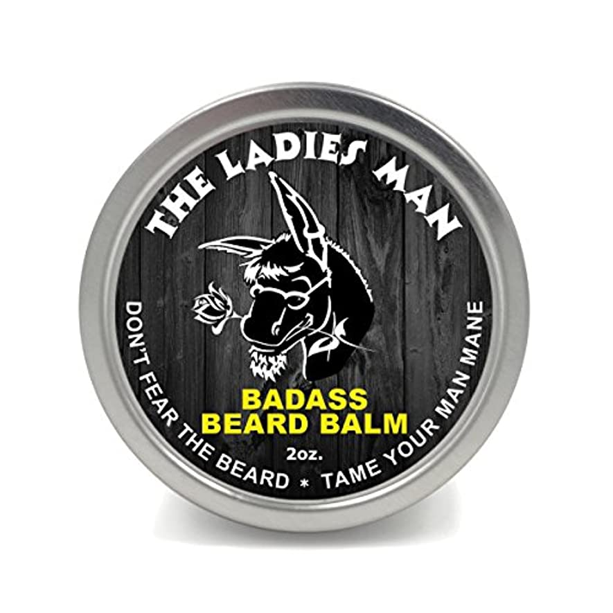 タイムリーな素晴らしい略すBadass Beard Careビアードバーム2オンスレディースマン