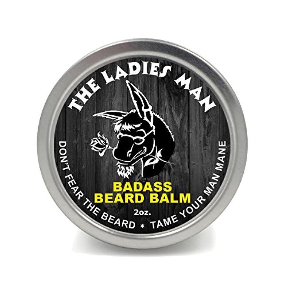 少年発音する痛みBadass Beard Careビアードバーム2オンスレディースマン