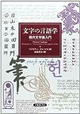 文字の言語学: 現代文字論入門