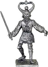 ヨーロッパの騎士. European Knights. Tin toy soldiers. コレクション54ミリメートル(1/32スケール)を ミニチュア置物.錫のおもちゃの兵士