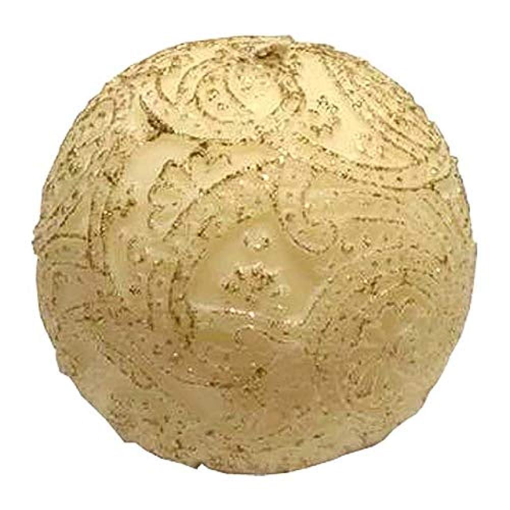 考古学的な直面する調べるペイズリー Globular Gliter (Ivory×Gold)