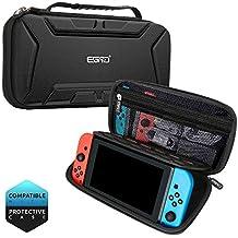 Nintendo Switch ケース ゲームカードケース  ニンテンドスイッチ 収納バッグ 大容量 キャリングケース ゲームカード15個収納可 全面保護型 耐衝撃 持ち運び便利 撥水 型崩れなし ハンドストラップ付 カード/ケーブル/イヤホン/ACアダプターなど小物収納可