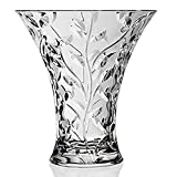 "RCR Crystal ""LAURUS"" Vase 11"" - Made in Italy"