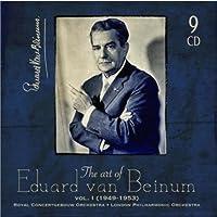 THE ART OF EDUARD VAN BEINUM VOL.1 by EDUARD VAN BEINUM