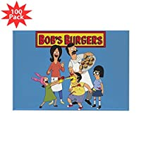 CafePress–Bob 's Burgersファミリ–長方形マグネット100パック