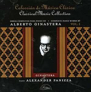 Alberto Ginastera/Obras Completas Para Piano