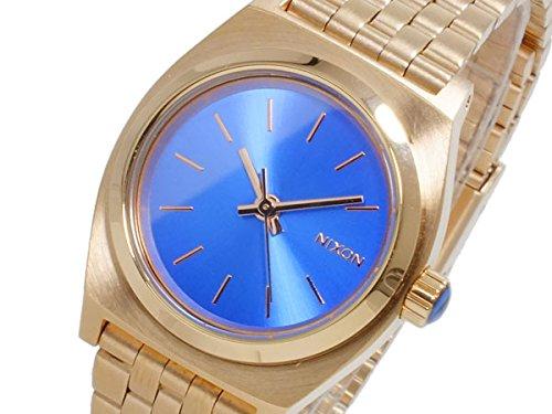 ニクソン NIXON スモール タイムテラー SMALL TIME TELLER 腕時計 A399-1748 ROSE GOLD COBLT ローズゴールド×コバルト [並行輸入品]