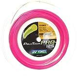 Yonex(ヨネックス) ポリツアープロ 200Mロール 硬式テニス ポリエステル ガット PTP125-2/1.25mm/ピンク [並行輸入品]