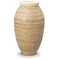 信楽焼陶器 傘立 ファラオ 白砂釉 A 高60cm MA308