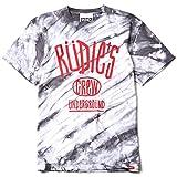 (ルーディーズ) RUDIE'S DRAWING DYED-T (SS:TEE)(84696-TS) Tシャツ 半袖 タイダイ染め L タイガーストライプ