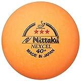 ニッタク(Nittaku) カラー 3スター ネクセル(3個入り) NB-1150