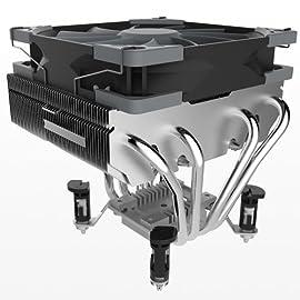 サイズ オリジナル設計 トップフロータイプCPUクーラー 超天 CHOTEN 虎徹のトップフロー版コンセプト