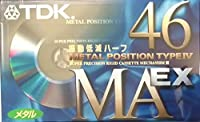 TDK メタルテープ MAEX 46分 振動低減ハーフ MAEX-46