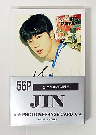 JIN BTS BANGTAN BOYS - MINI POSTCARD PHOTOCARD SET 56pcs