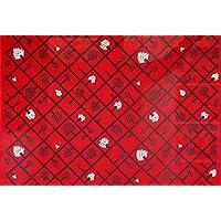 【正規輸入品】マリメッコ(marimekko)生地(布)68939-340 SPALJE(スパルイェ)赤(限定色) 生地巾145cmX100cm単位 生地カット販売 ファブリック