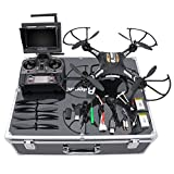 RC Quadcopter Potensic F183DH Drone RTF Altitude Hold UFO with Newest Hover Function 2MP Camera& 5.8Ghz FPV LCD Screen Monitor & Drone Carrying Case (drone578)【並行輸入品】Amazontry