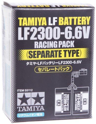 バッテリー & 充電器シリーズ No.112 タミヤ・LFバッテリー LF2300 6.6V セパレートパック 55112