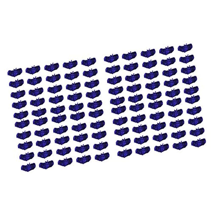 配管合法ひばりHellery 100個セット 使い捨てブラ 使い捨てブラジャー 日焼けブラジャー 不織布 ダークブルー