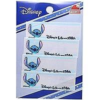 ディズニー ワッペン キャラクター 刺繍ワッペン ネームラベル アイロン接着 4枚セット スティッチ Disney アイロンワッペン アップリケ 手芸 正規品