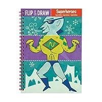 Mudpuppy Superheroes Flip and Draw [並行輸入品]