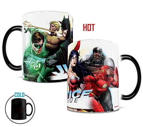 Morphing Mug DC Comics Justice...
