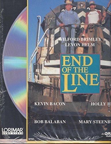 End of the Line, laser disc