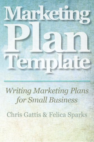 amazon marketing plan template writing marketing plans for small