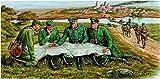 ホビーボス 1/35 ファイティングヴィークルシリーズ ドイツ軍 GD師団将校 野戦会議セット プラモデル 84414