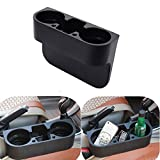 TOPPDR カーグッズ 多機能車載用品 置物 収納ポケット 小物入れ ドリンクホルダー カップホルダー ごみ箱 携帯ホルダー