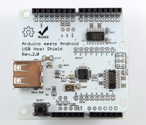 Usbホストシールド for arduino compatible with google android