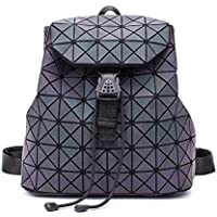 Men and Women Multifunctional Travel Backpack Student Geometric Schoolbag Foldable Outdoor Fashion Backpack